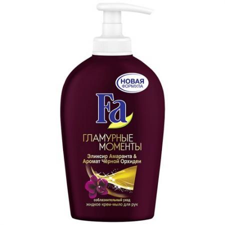 купить Fa Жидкое крем-мыло Гламурные моменты 250мл по цене 130 рублей
