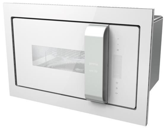 Встраиваемая микроволновая печь Gorenje BM235ORAW 900 Вт белый серебристый встраиваемая микроволновая печь gorenje bm201inb