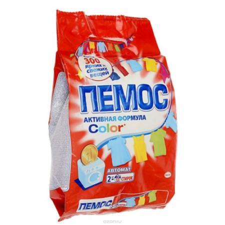 Стиральный порошок ПЕМОС 2кг пемос стиральный порошок колор пемос 2 кг