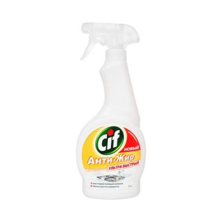 CIF Чистящее средство для кухни 500мл чистящее средство для унитаза bref сила актив с хлор компонентом 50г