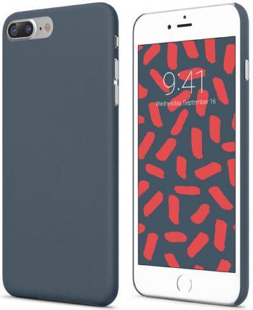 Накладка Vipe Grip для iPhone 7 Plus iPhone 8 Plus темно-синий VPIP7PGRIPDBLUE кейс для iphone vipe для iphone 7 woozy черный vpip7woozyblk2