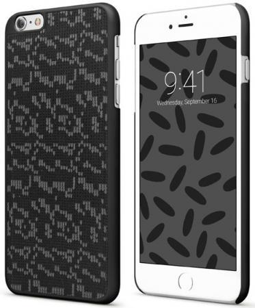 Накладка Vipe Woozy для iPhone 7 iPhone 8 чёрный VPIP7WOOZYBLK2 кейс для iphone vipe для iphone 7 woozy черный vpip7woozyblk2