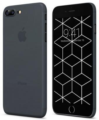 Накладка Vipe Wispy для iPhone 7 Plus iPhone 8 Plus темно-синий VPIP7PWISPYDBLUE кейс для iphone vipe для iphone 7 woozy черный vpip7woozyblk2