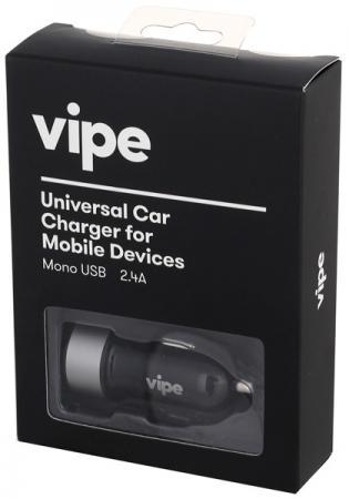 Автомобильное зарядное устройство Vipe VPCCH24BLK 2.4А черный