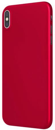 Накладка Vipe Color для iPhone X красный VPIPXCOLRED кейс для iphone vipe для iphone 7 woozy черный vpip7woozyblk2