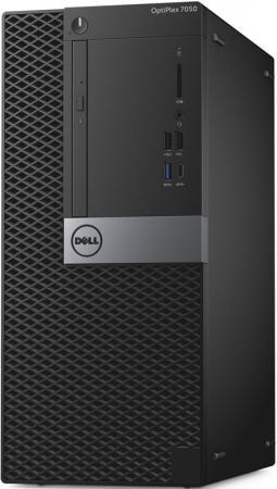 Системный блок DELL Optiplex 7050 MT Intel Core i7 7700 16 Гб SSD 256 Гб Radeon R7 450 4096 Мб Windows 10 Pro 7050-4860 системный блок dell optiplex 7060 6122 mt