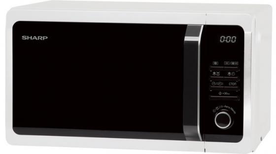 Микроволновая печь Sharp R7852RW 900 Вт белый sharp r 2772rsl