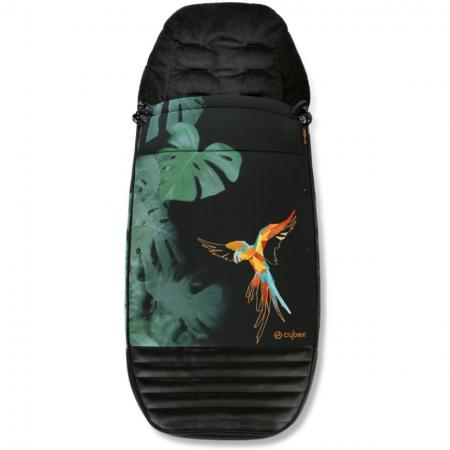 Накидка на ножки в коляску Cybex Priam (birds of paradise) комплект задних колес для коляски cybex priam all terrain matt black