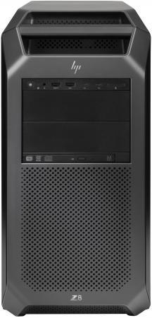 Системный блок HP Z8 G4 Silver 4108 1.8GHz 65Gb 1Tb DVD-RW Win10Pro черный 2WU48EA