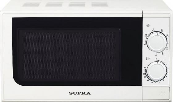 Микроволновая печь Supra 20MW25 700 Вт белый цена и фото