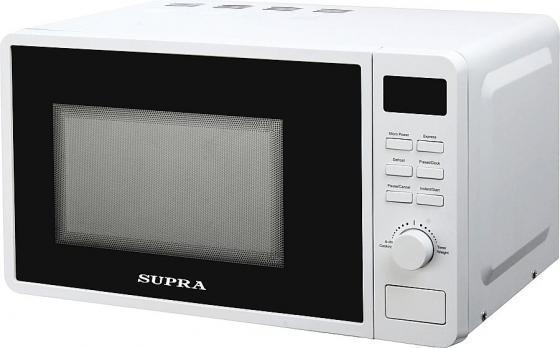Микроволновая печь Supra 20TW42 700 Вт белый цена и фото