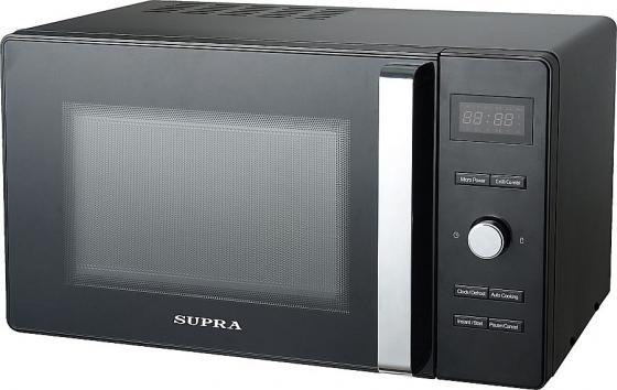 Микроволновая печь Supra 23TBG34 800 Вт чёрный микроволновая печь supra 23tbg34