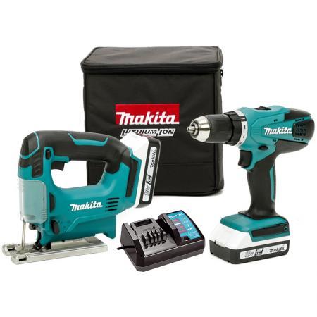 Набор инструментов Makita DK18298X1 6шт набор инструментов makita b 28612 47 предметов