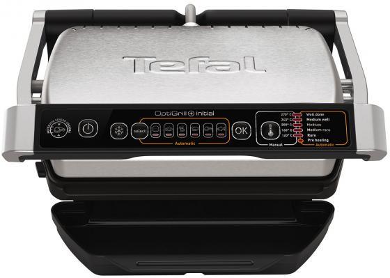 Электрогриль Tefal GC706D34 чёрный серебристый электрогриль tefal gc205012