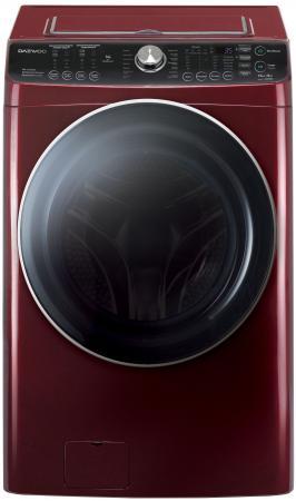 Стиральная машина DAEWOO DWC-PHU12R1P красный стиральная машина с сушкой daewoo wmc hwf12sp