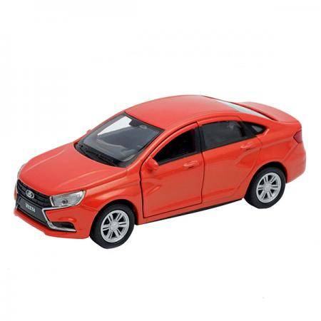 Автомобиль Welly LADA Vesta 1:34-39 красный 43727 автомобиль welly lada vesta 1 34 39 красный 43727