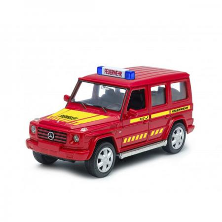 Джип Welly Mercedes-Benz G-CLASS Пожарная 1:32 красный 39889GF