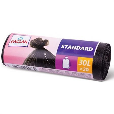 PACLAN Мешки для мусора STANDART 30л 20шт