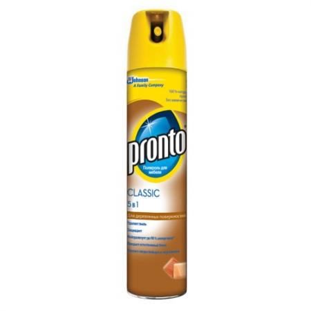 РRONTO чистящее и моющее средство по уходу за мебелью Полироль Классик 250 мл rm 555 универсальное моющее средство