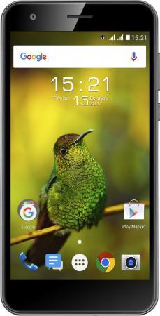 Смартфон Fly FS530 Power Plus XXL черный 5 8 Гб LTE Wi-Fi GPS 3G 4G смартфон asus zenfone live zb501kl золотистый 5 32 гб lte wi fi gps 3g 90ak0072 m00140