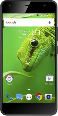 Смартфон Fly FS517 Cirrus 11 черный 5 8 Гб LTE Wi-Fi GPS 3G 4G смартфон fly fs517 cirrus 11 black