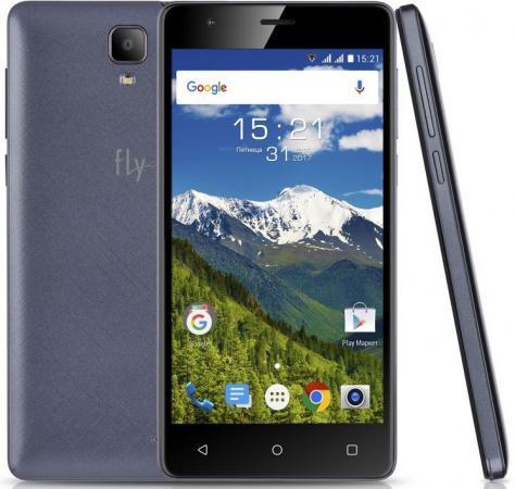 Смартфон Fly FS516 Cirrus 12 синий 5 8 Гб LTE Wi-Fi GPS 3G смартфон meizu m5 note серебристый 5 5 32 гб lte wi fi gps 3g