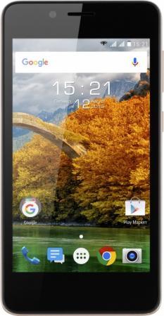"Смартфон Fly FS458 Stratus 7 шампань 4.5"" 8 Гб Wi-Fi GPS 3G цена и фото"