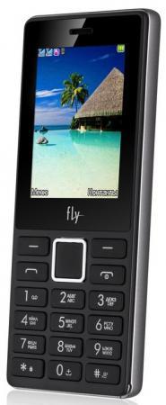 Телефон Fly FF248 серый 2.4 64 Мб fly ff244