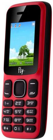 Мобильный телефон Fly FF181 красный 1.77 32 Мб мобильный телефон fly ff281 белый
