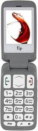 """Телефон Fly Ezzy Trendy 3 белый 2.4"""" 32 Мб"""