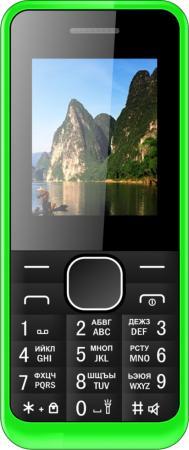 Мобильный телефон Irbis SF14 зеленый 1.77 32 Мб мобильный телефон fly ff178 белый 1 77 32 мб