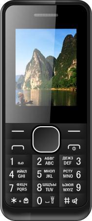 Мобильный телефон Irbis SF14 черный 1.77 32 Мб мобильный телефон irbis sf61 черный