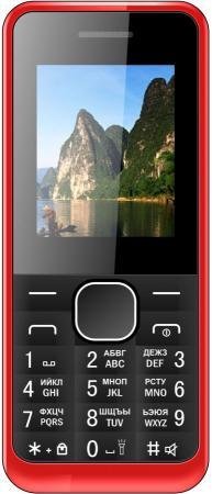 Мобильный телефон Irbis SF06 красный черный 1.77 32 Мб ноутбук irbis nb25 nb25