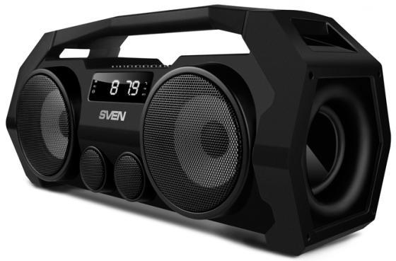 Портативная акустика Sven PS-465 18Вт Bluetooth черный