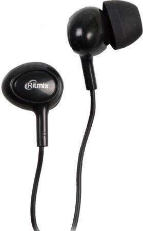 Наушники Ritmix RH-022 черный аудио наушники ritmix наушники ritmix rh 118 silver