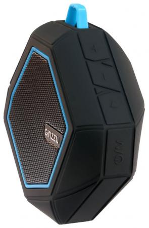 Портативная акустика Ginzzu GM-871B черный портативная акустика ginzzu gm 899b черный