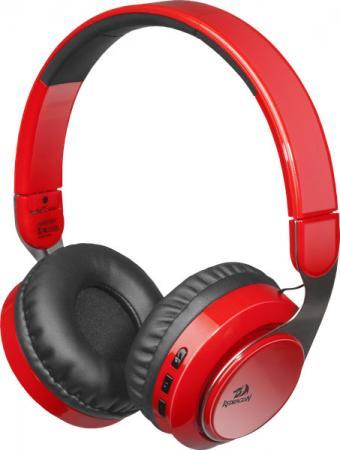 Гарнитура Redragon Sky R красный черный цена и фото