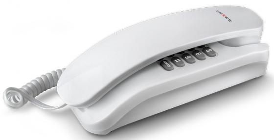 цена на Телефон проводной Texet TX-215 белый