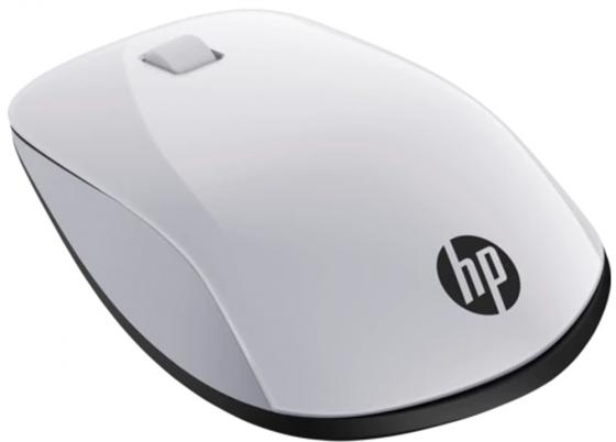 Мышь беспроводная HP Z5000 чёрный белый USB + Bluetooth 2HW67AA мышь беспроводная hp h6e52aa touch to pair чёрный bluetooth