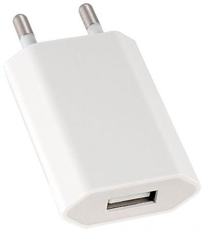 Сетевое зарядное устройство Perfeo I4605 1A USB белый зарядное устройство зарядное устройство сетевое qtek s200 htc p3300 ainy 1a