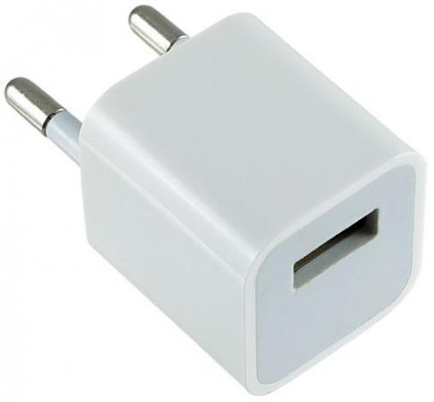 Сетевое зарядное устройство Perfeo I4607 1A USB белый чехол для для мобильных телефонов samsung s5 leather case for samsung galaxy s5