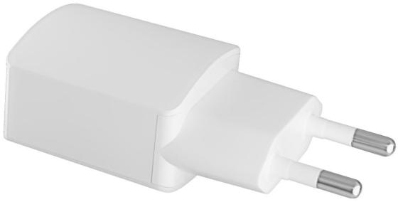 Сетевое зарядное устройство GINZZU GA-3003W 1.2A USB белый сетевое зарядное устройство ginzzu ga 3003w usb 1 2a белый