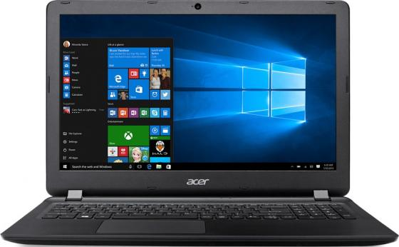 "Ноутбук Acer Aspire ES1-572-321J 15.6"" 1366x768 Intel Core i3-6006U 500 Gb 4Gb Intel HD Graphics 520 черный Linux NX.GD0ER.040 ноутбук acer aspire es1 572 31vt 15 6"