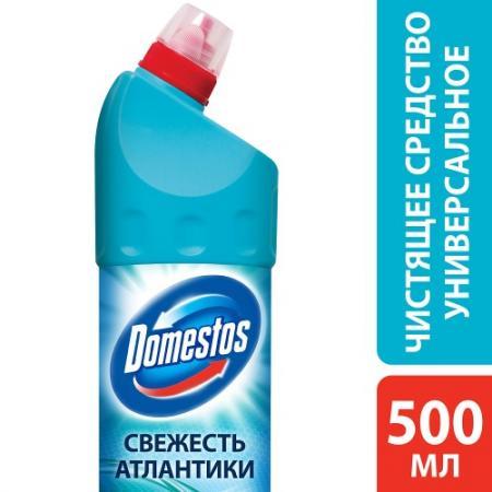 DOMESTOS Чистящее средство Свежесть Атлантики 500мл средство чистящее domestos лимонная свежесть 1000мл