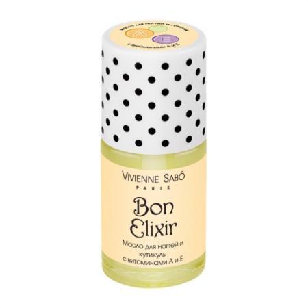 VS Масло для ногтей и кутикулы с витаминами А Е/vitamin nail care oil/Huile pour ongles et cuticules Bon Elixir