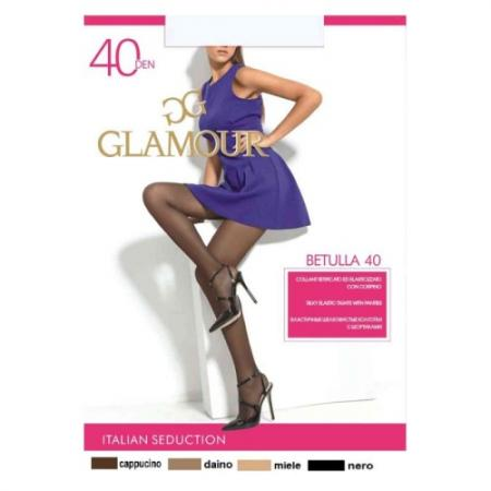 Колготки GLAMOUR Betulla 2 40 den черный колготки glamour glamour gl302fwxqk42