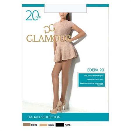 Колготки GLAMOUR Edera 4 20 den лёгкий загар glamour edera