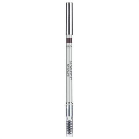 LOREAL BROW ARTIST Карандаш для бровей 303 Темно-коричневый loreal brow artist карандаш для бровей 303 темно коричневый
