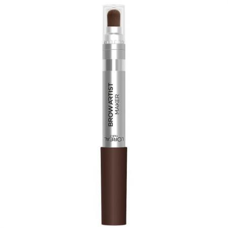 LOREAL BROW ARTIST Крем-карандаш для бровей 02 светло-коричневый loreal brow artist карандаш для бровей 303 темно коричневый