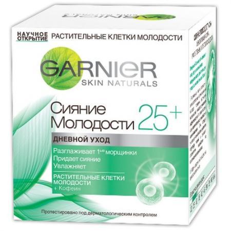 Крем для лица Garnier Сияние молодости 50 мл дневной C4929500 крем bodyton крем для лица дневной 30 мл